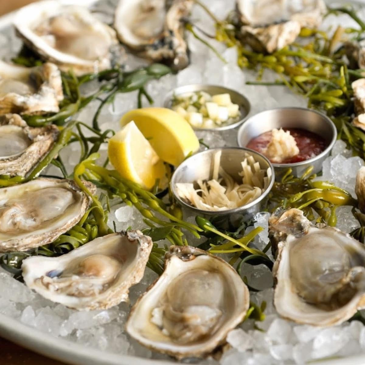 oysters at Oyster Bar at Prohibition