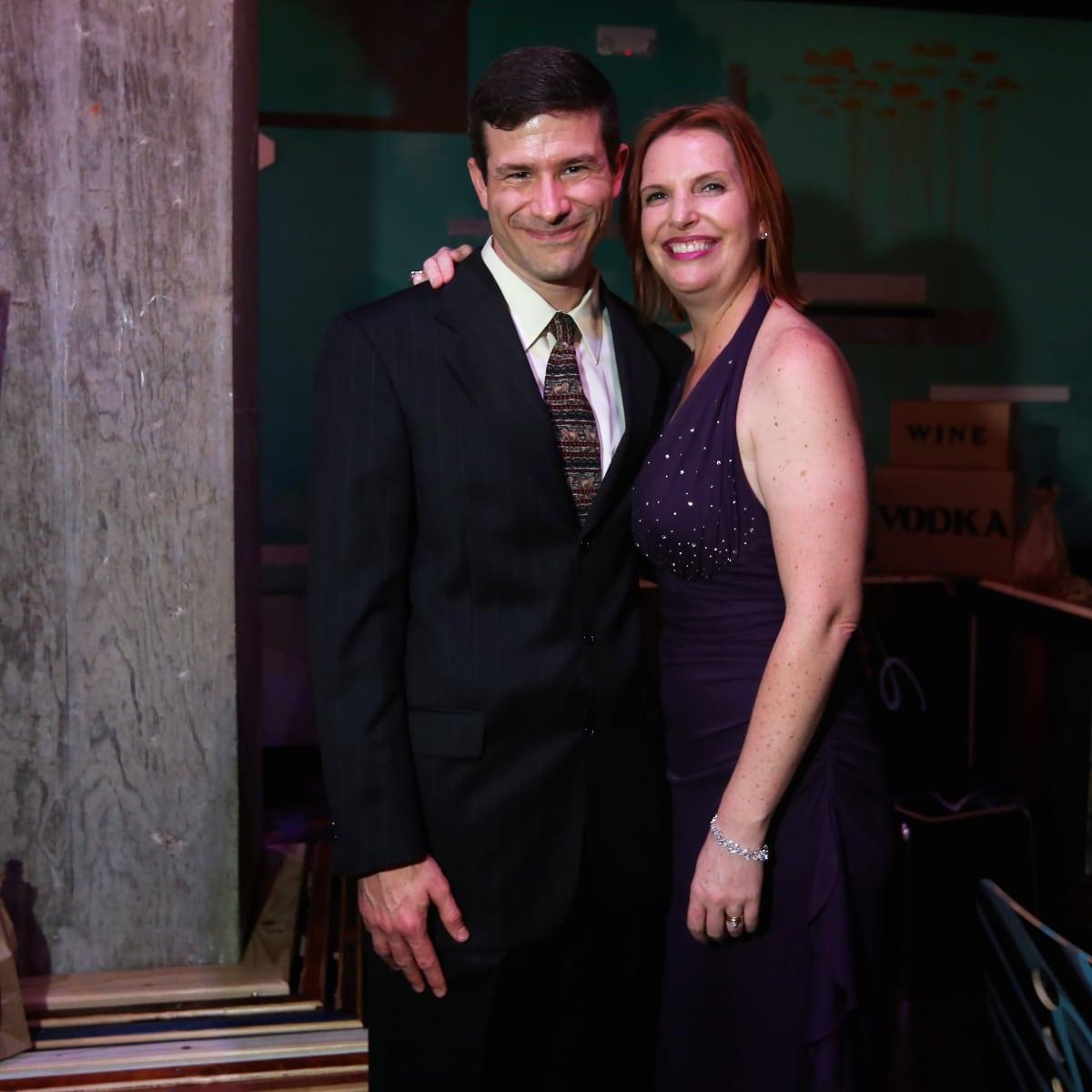 "Alan and Elizabeth Dozier at the Ars Lyrica ""Roaring Twenties"" Gala"