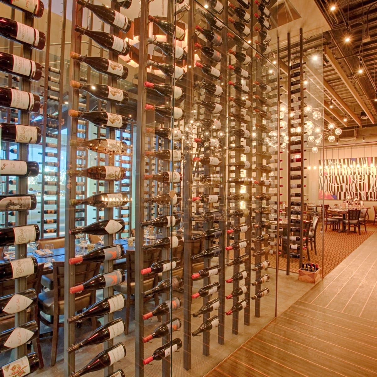 Vallone's wine tower