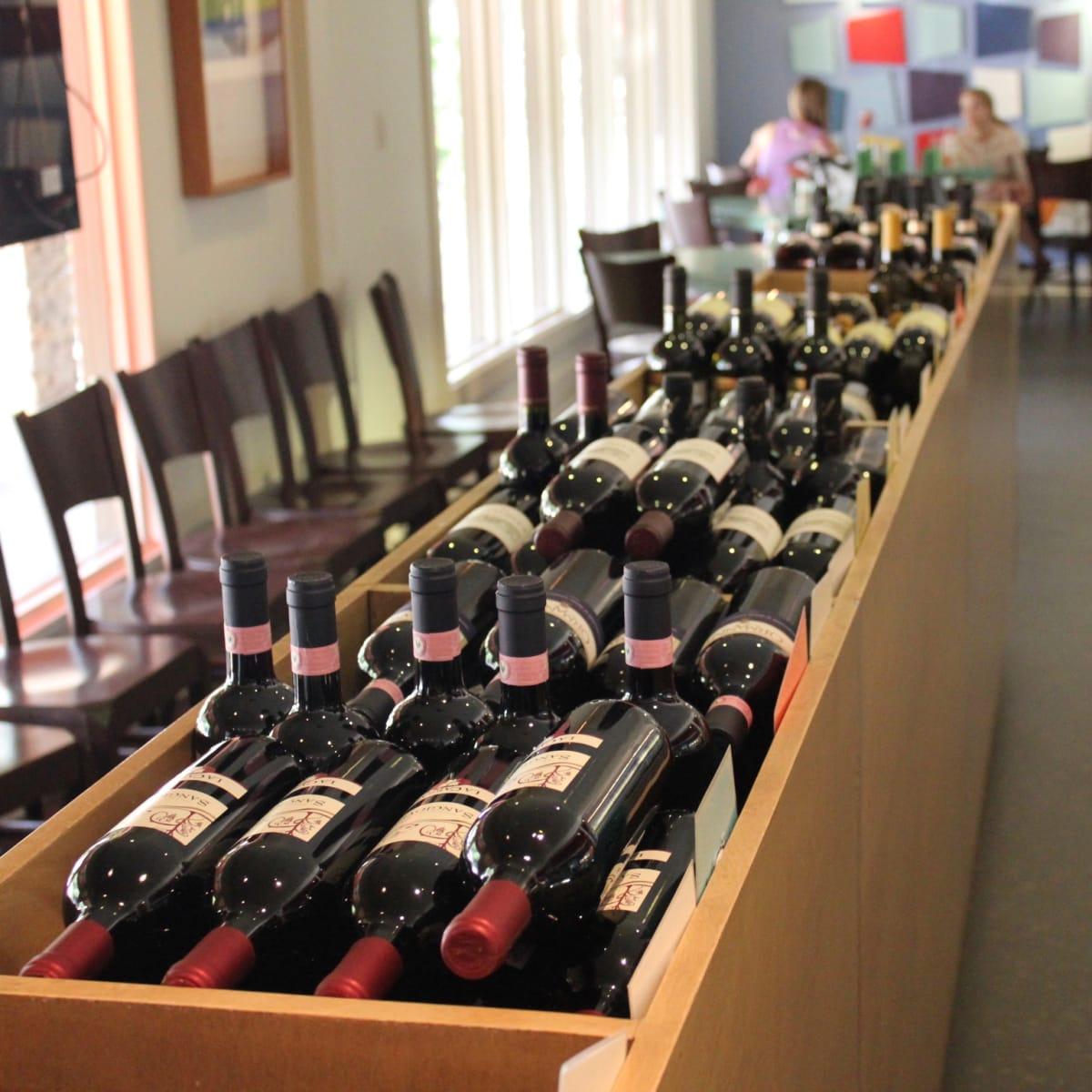 Giacomo's Restaurant, Interior Wine, June 2012