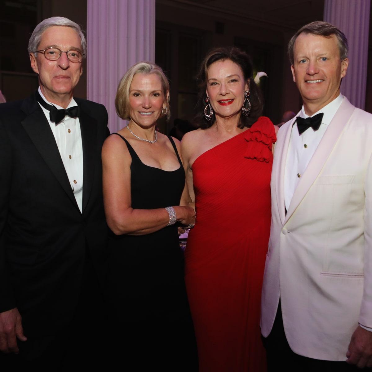 Philip Edmundson, Beth Tilney, Sally Edmundson, Schuyler Tilney at Stages Gala 2017