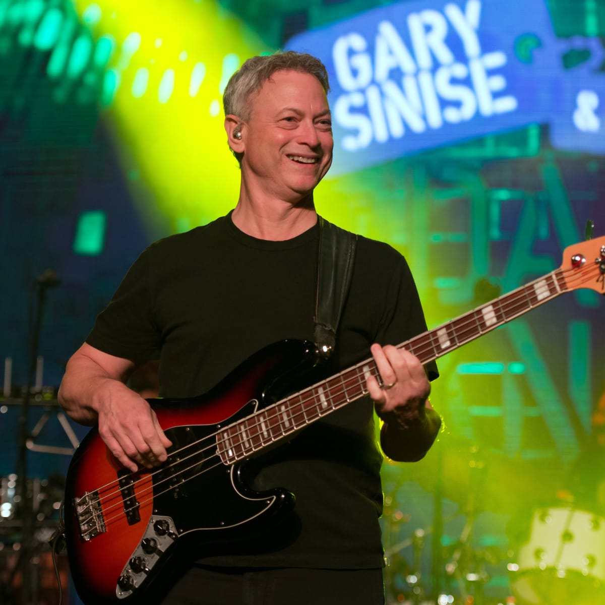 Houston, Space Center Houston Galaxy Gala, April 2017, Gary Sinise playing in the Lt. Dan Band