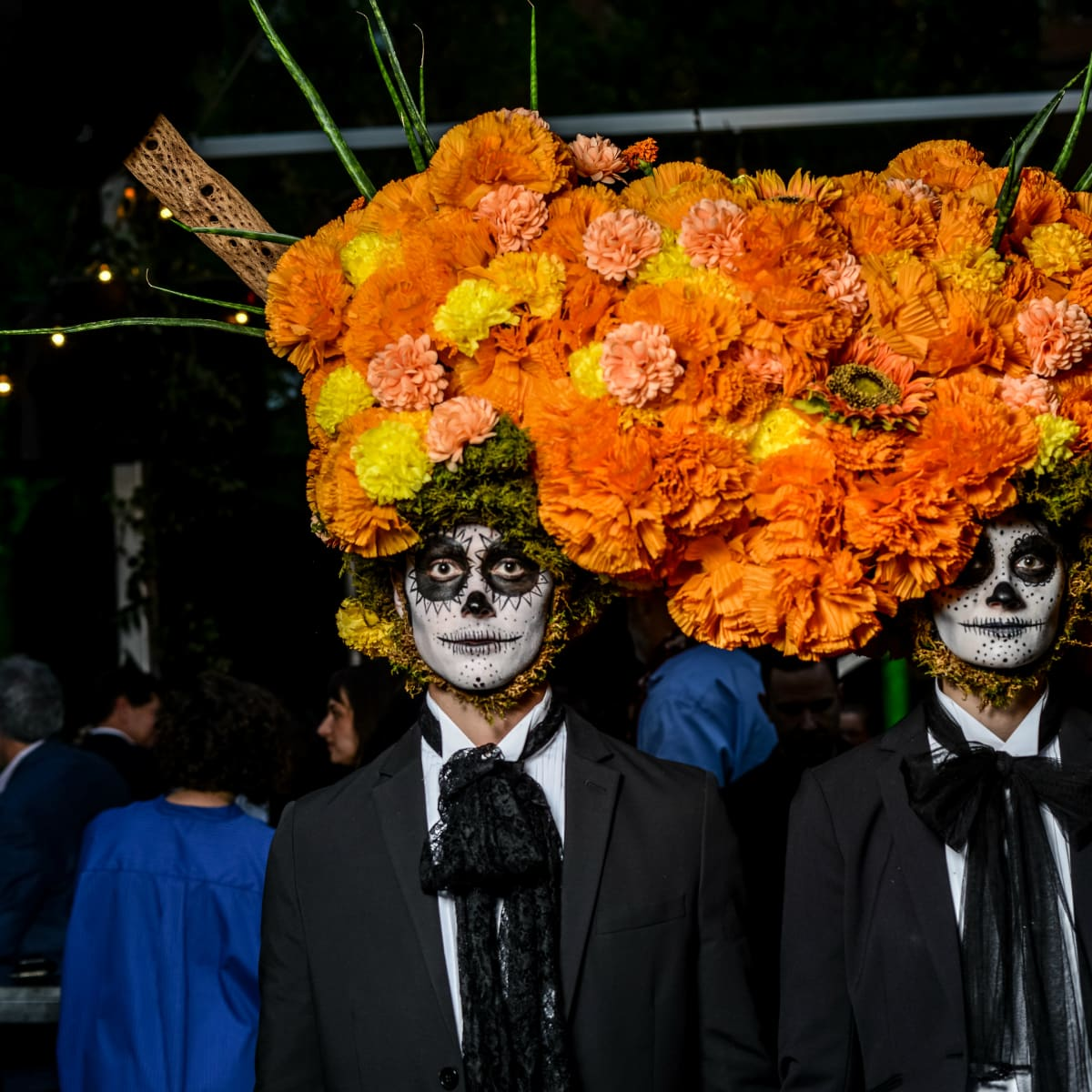 Flower models at Eye Ball at The Joule 2017