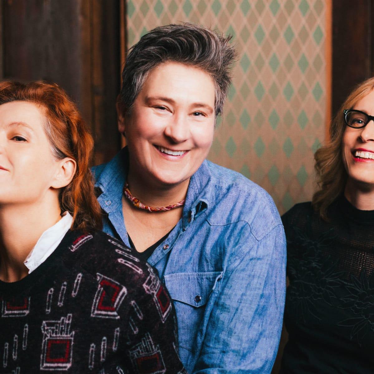 Neko Case, K.D. Lang, and Laura Veirs