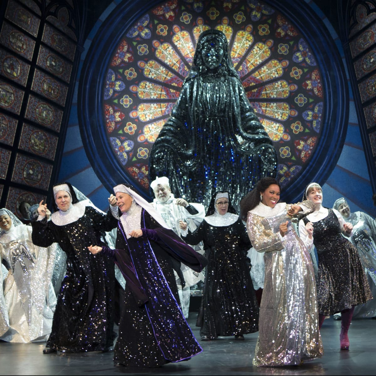 Cast of Sister Act