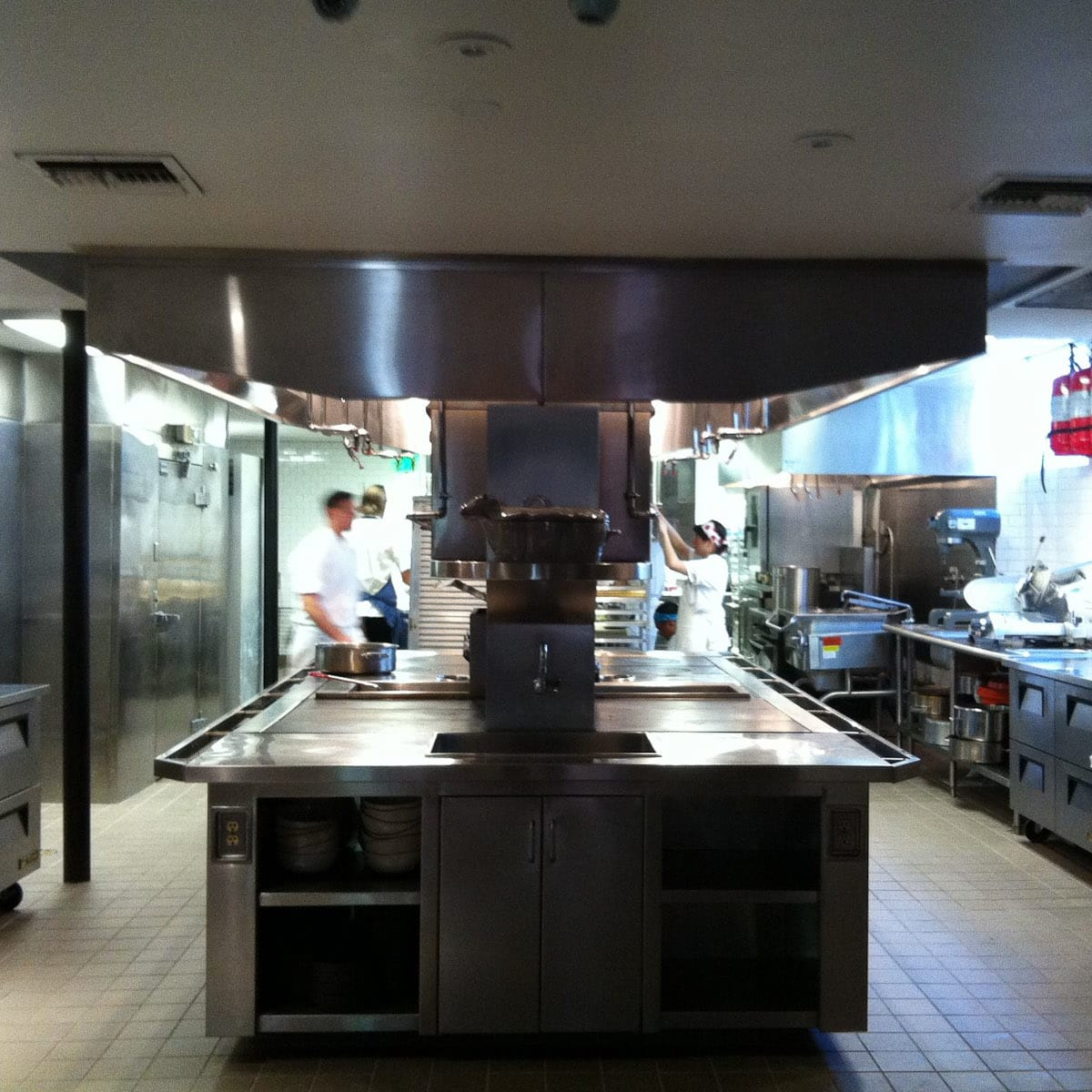 The Pass and Provisions, kitchen