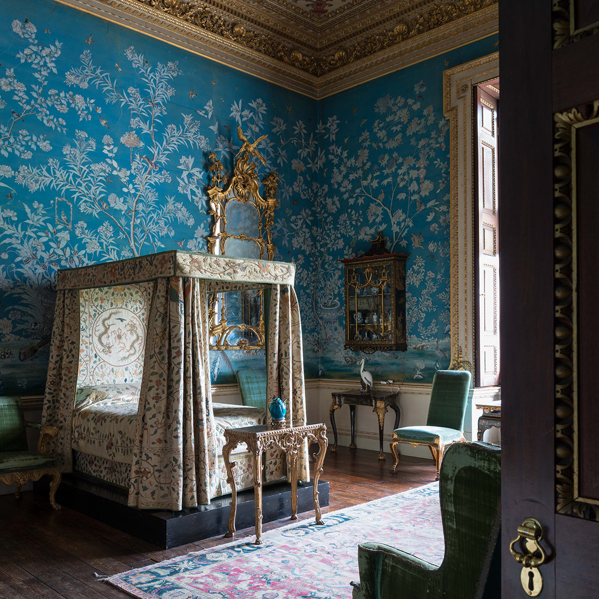 Houghton Hall MFAH Merrell - Cabinet Room