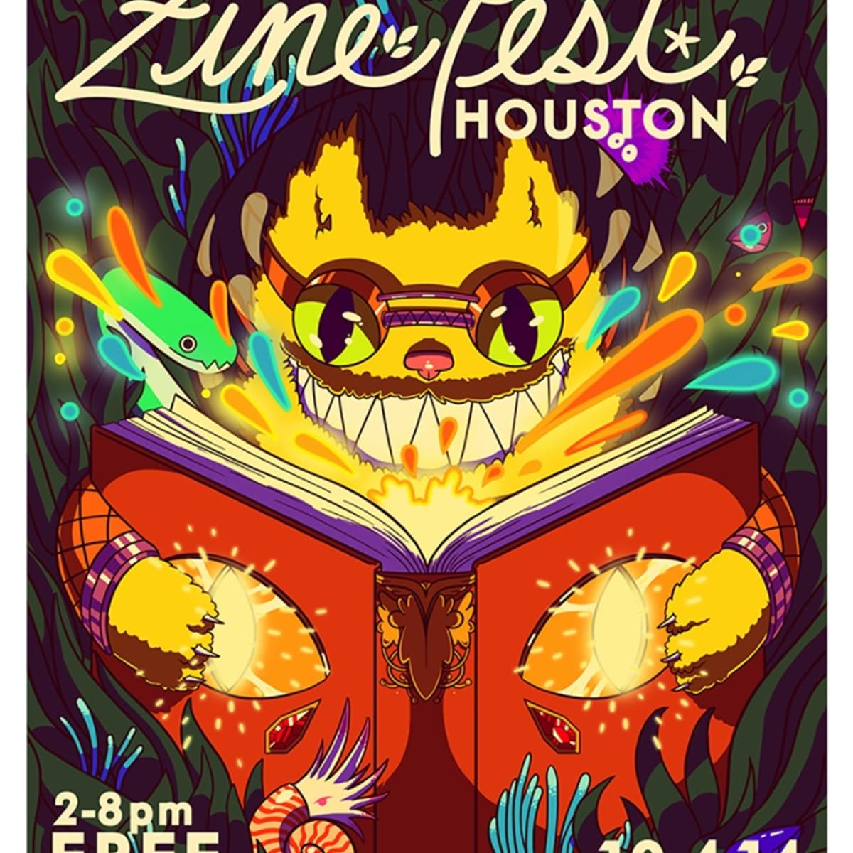 Zine Fest Houston 2014
