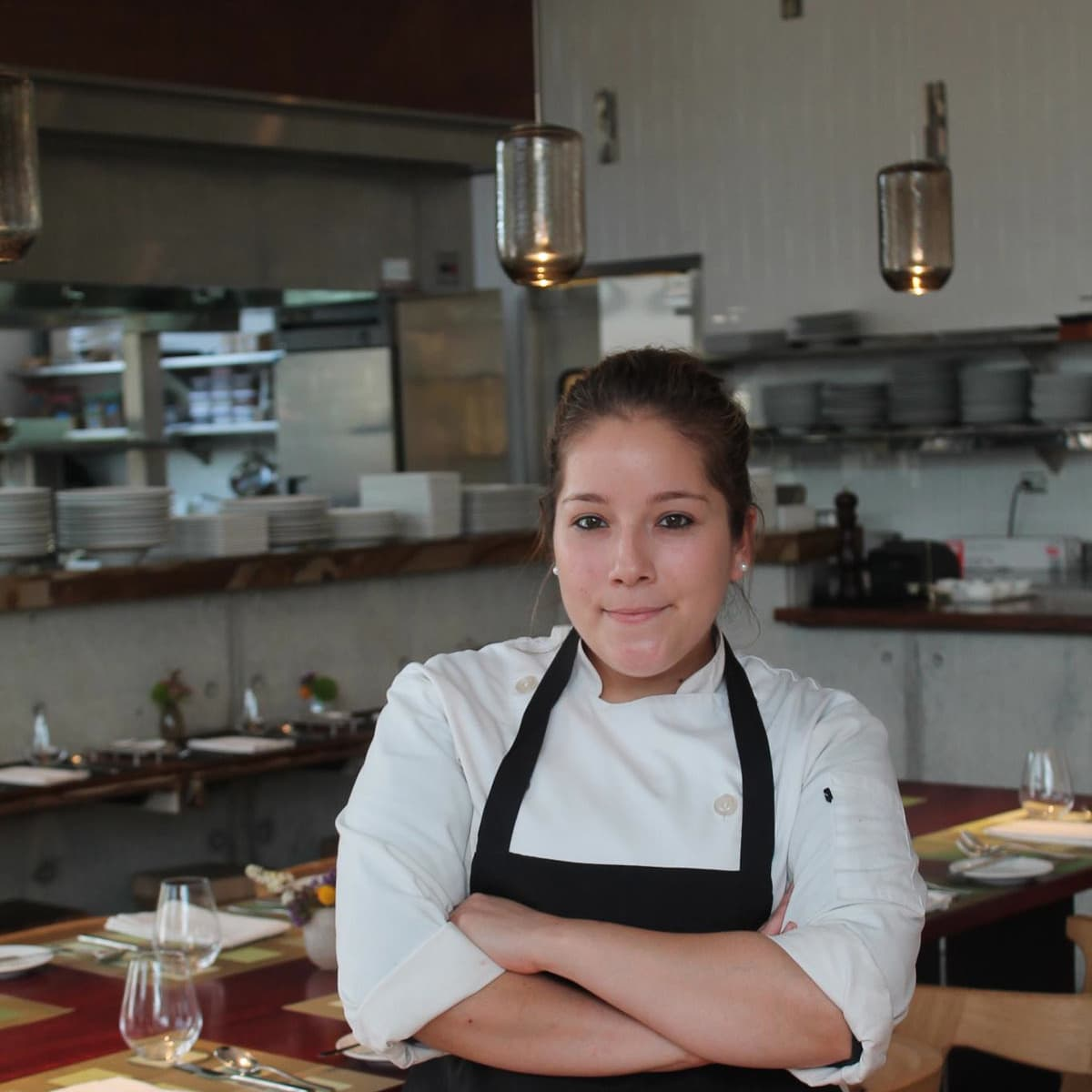 Triniti Restaurant pastry chef Samantha Mendoza