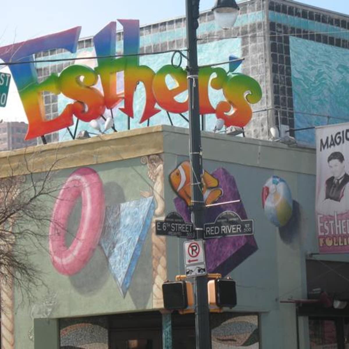 Austin Photo: Places_Arts_Austin_Museum_of_Art_Esther's_Follies_Exterior
