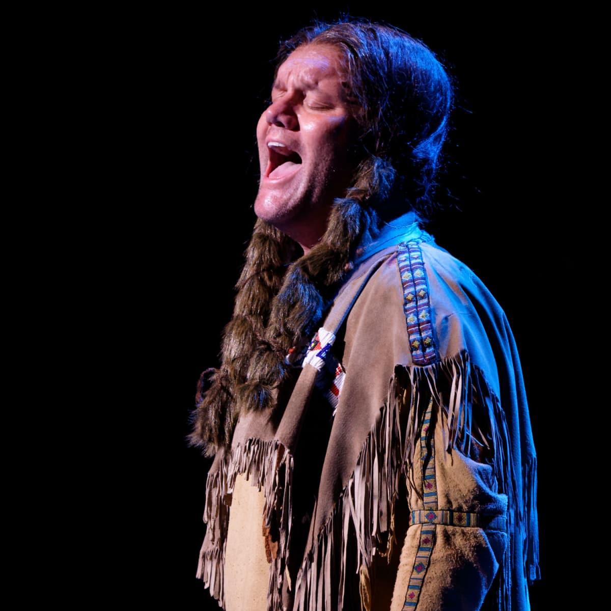 David Phelps in Lyric Stage's Quanah