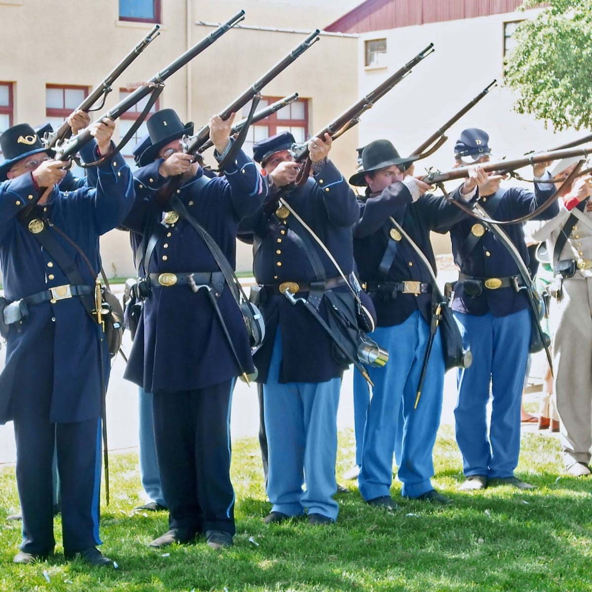Stockyards Station presents Frontier Forts Muster