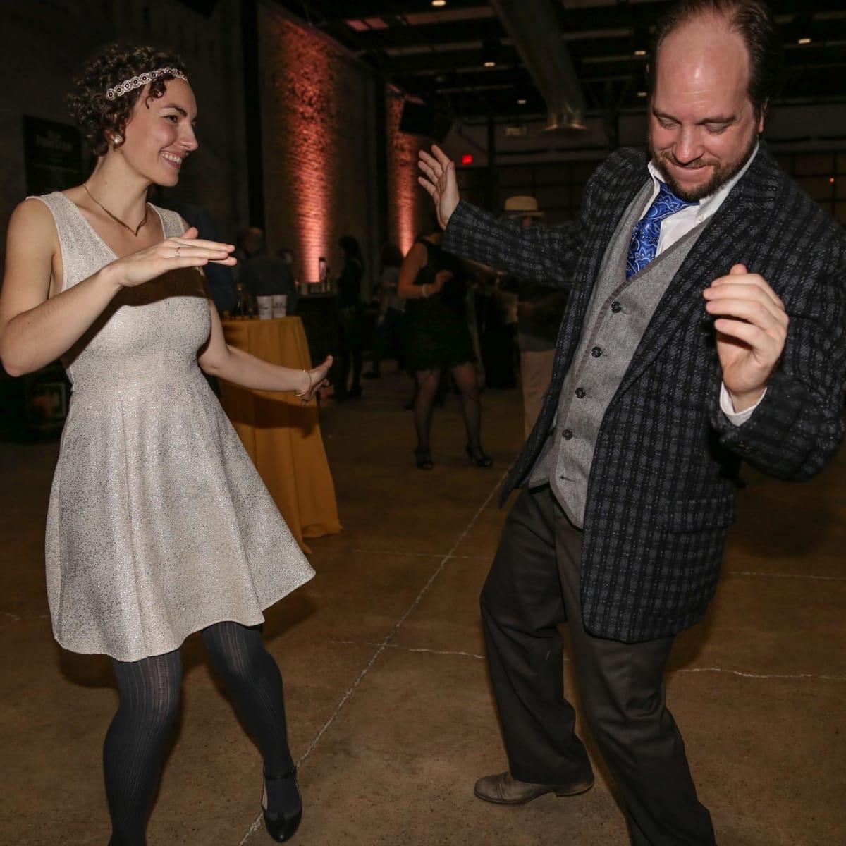CultureMap Old Forester Bourbon Ball 2016 Dancing
