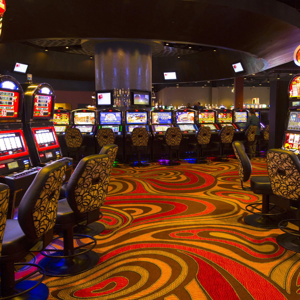 Kickapoo Lucky Eagle Casino gaming floor