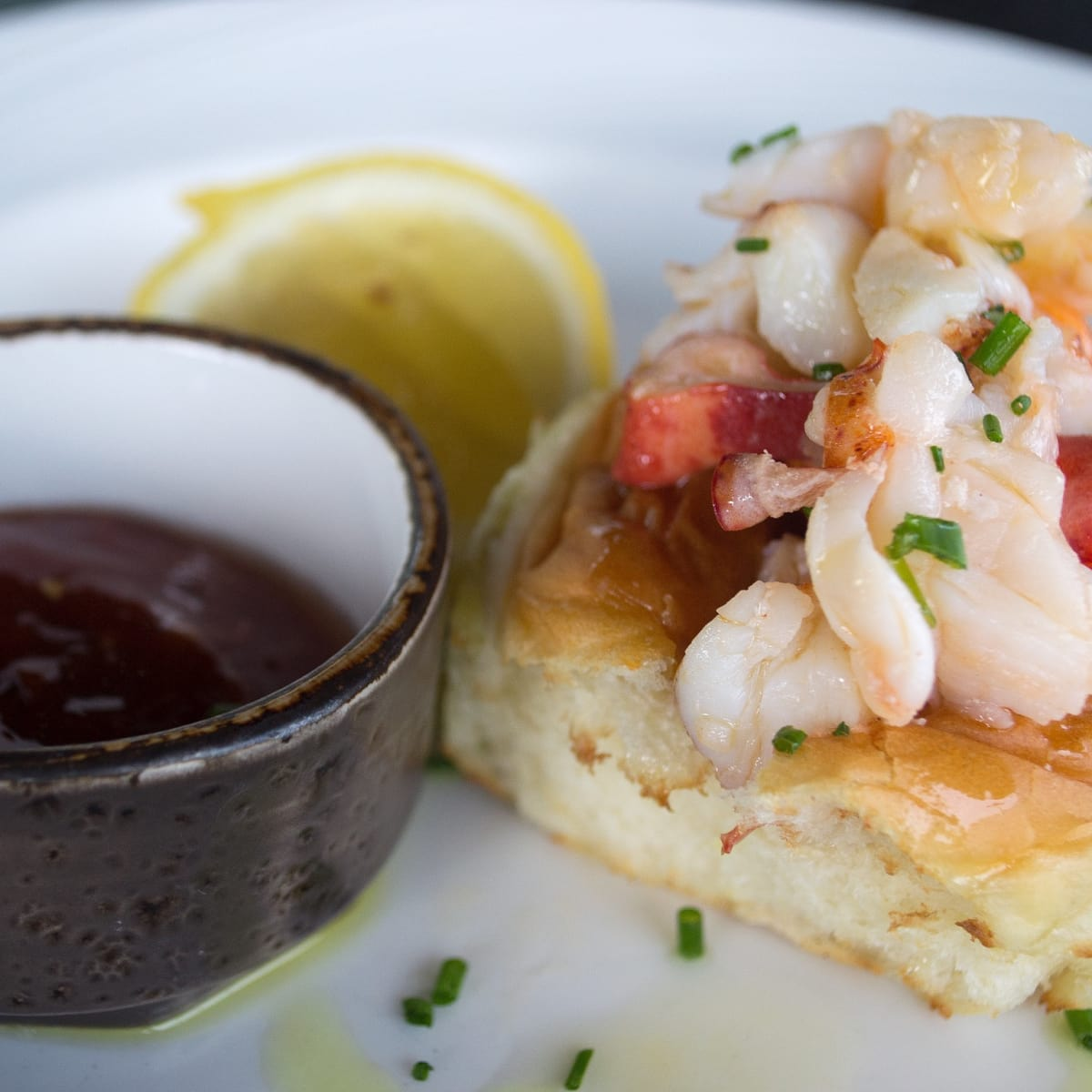 SaltAir Seafood lunch lobster roll