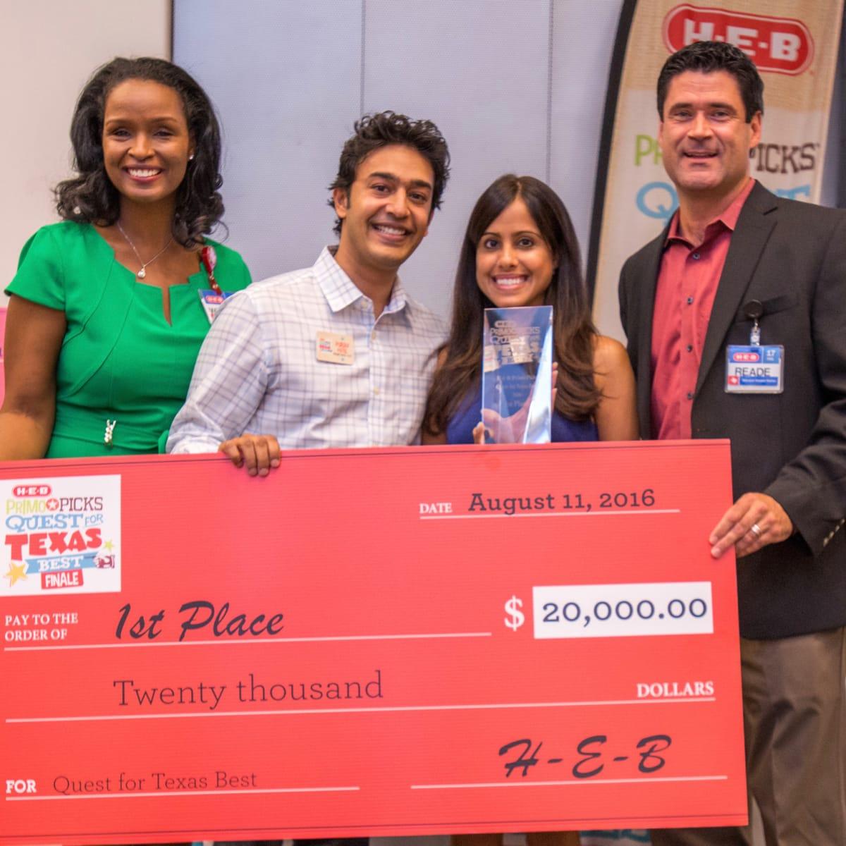 H-E-B Texas Best Bagel Dots - Winell Herron, Purav Patel & Aarti Garehgrat, Reade Ahrens