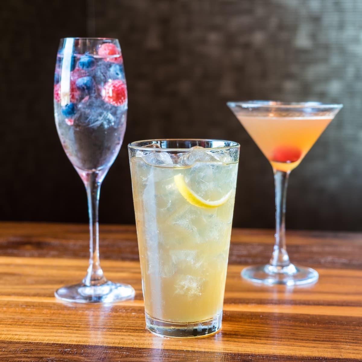 Del Frisco's Olympics cocktails