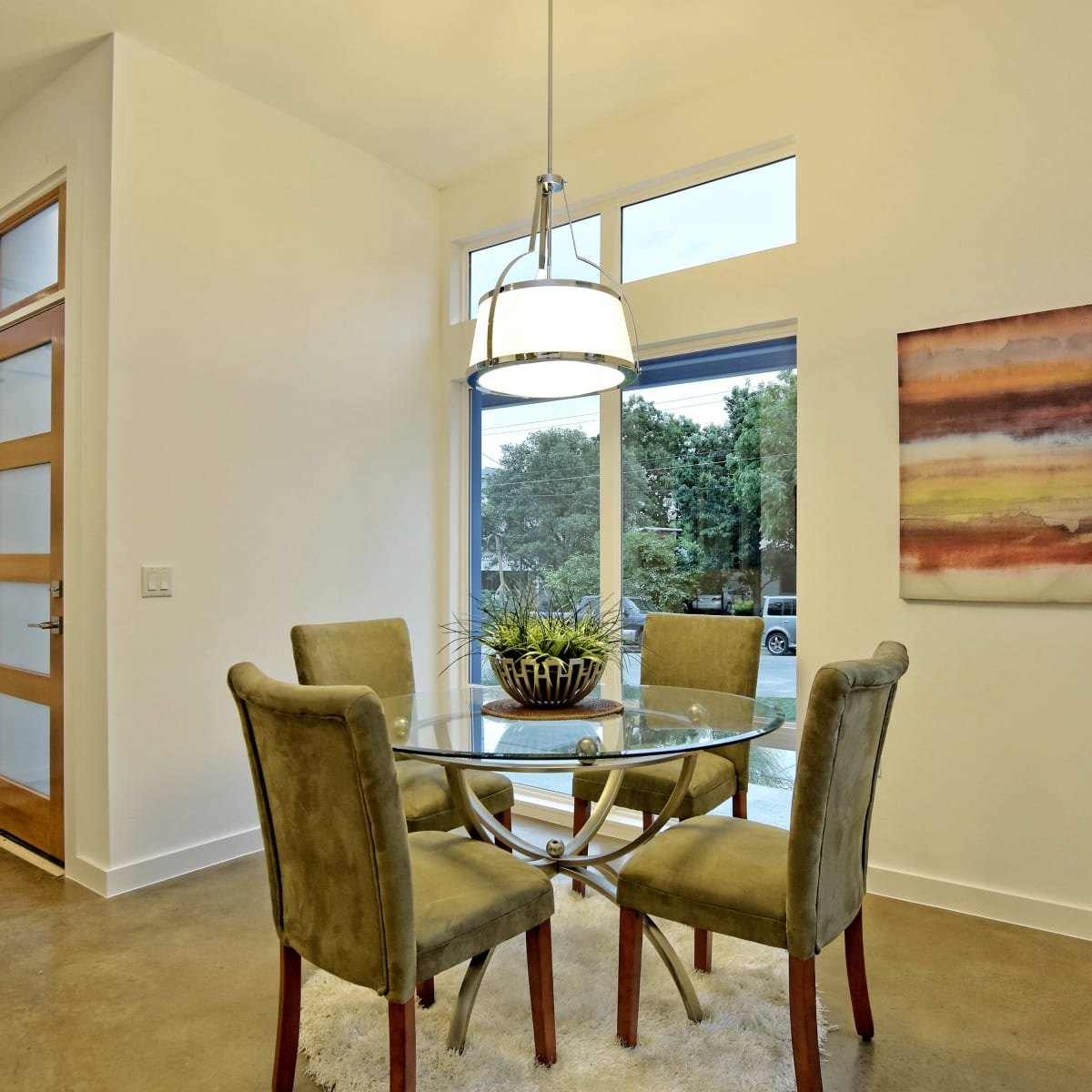 1806 Frazier Austin house for sale dining room