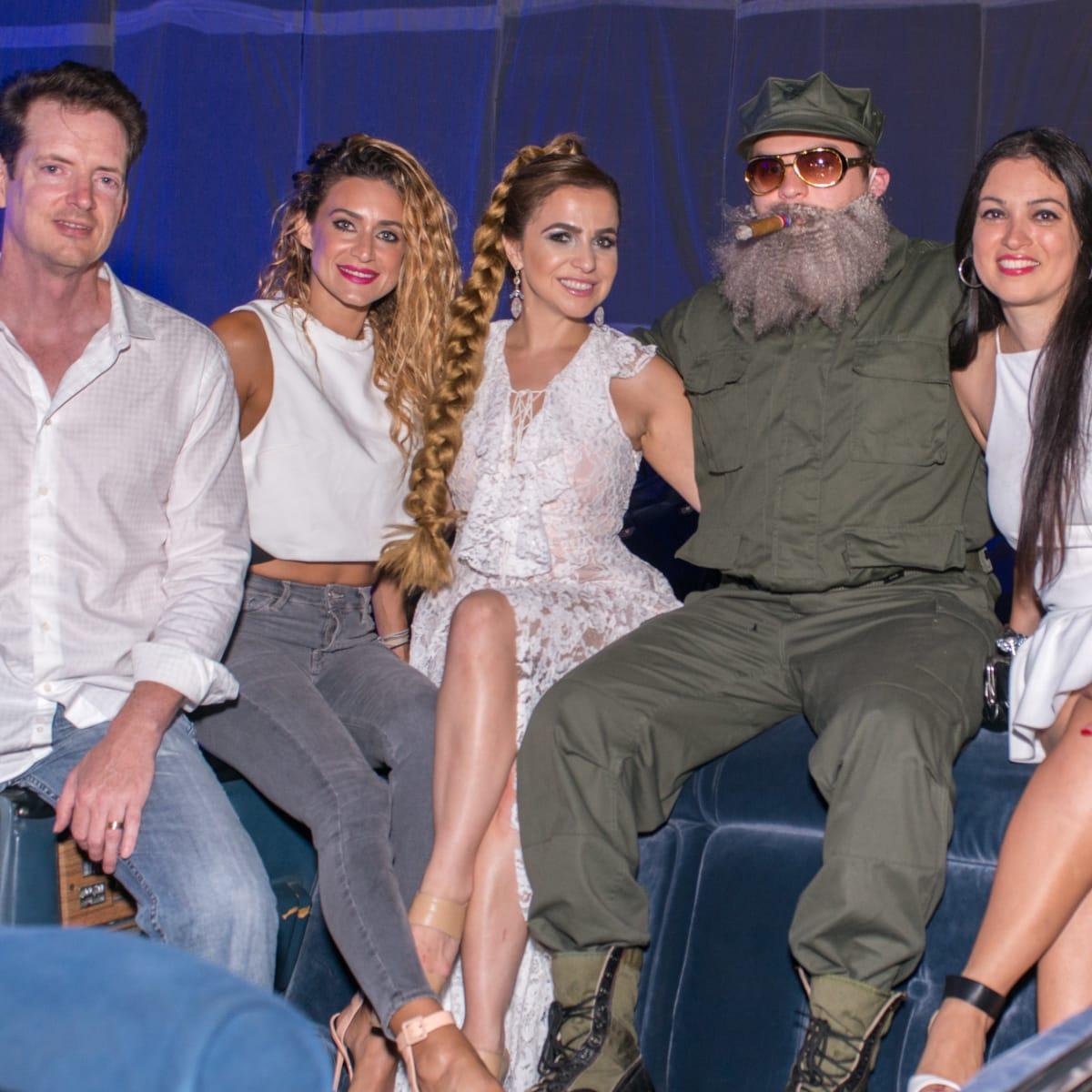Havana Night, 7/16 David Rafferty, Katherine Sin, Shiva Rafferty, David King, Sahar Rahmani