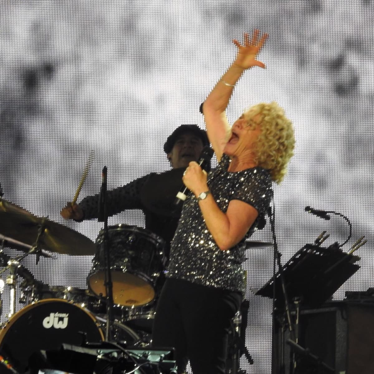 Carole King at London concert