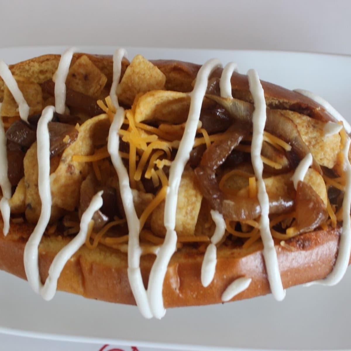 James Coney Island Frito dog Lily Jang