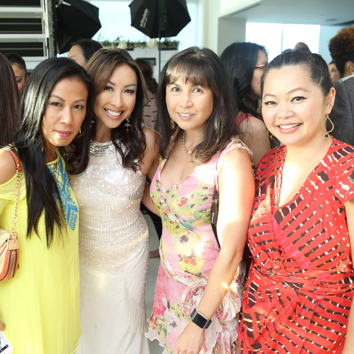 CKW Luxe Star Awards 6/16 Chau Nguyen, Lily Jang, Christine Delon, Chloe Dao