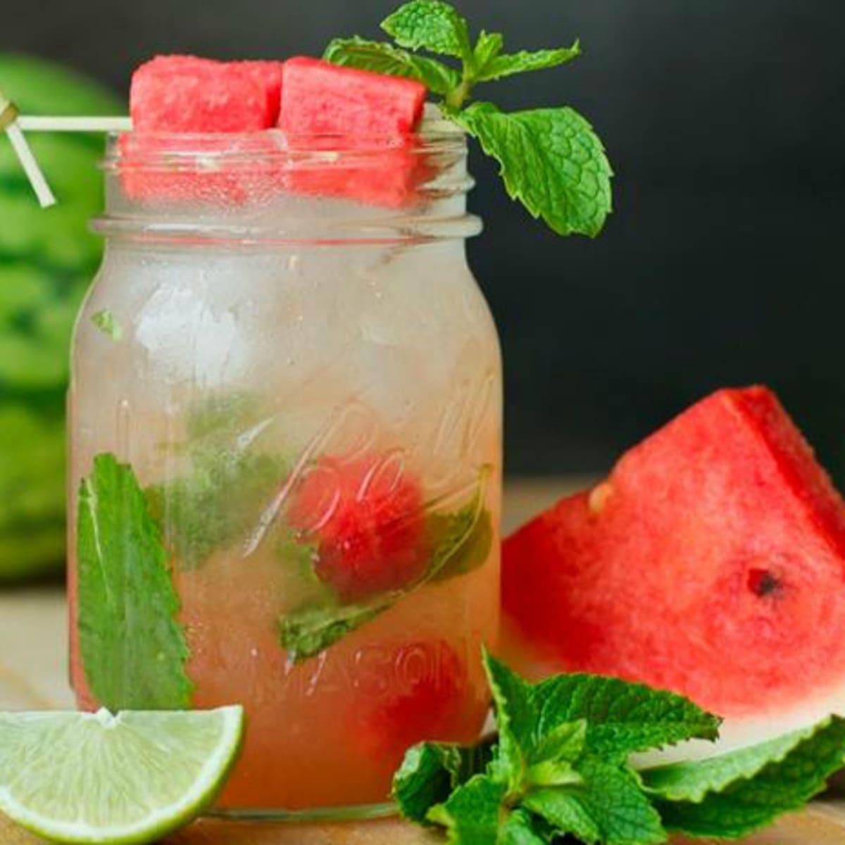 Hopdoddy watermelon mojito cocktail June 2016 special