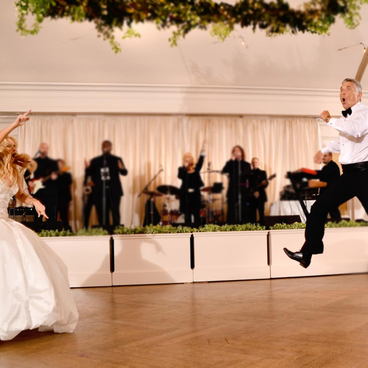Houston, Chita Johnson wedding, June 2016, father-daughter dance