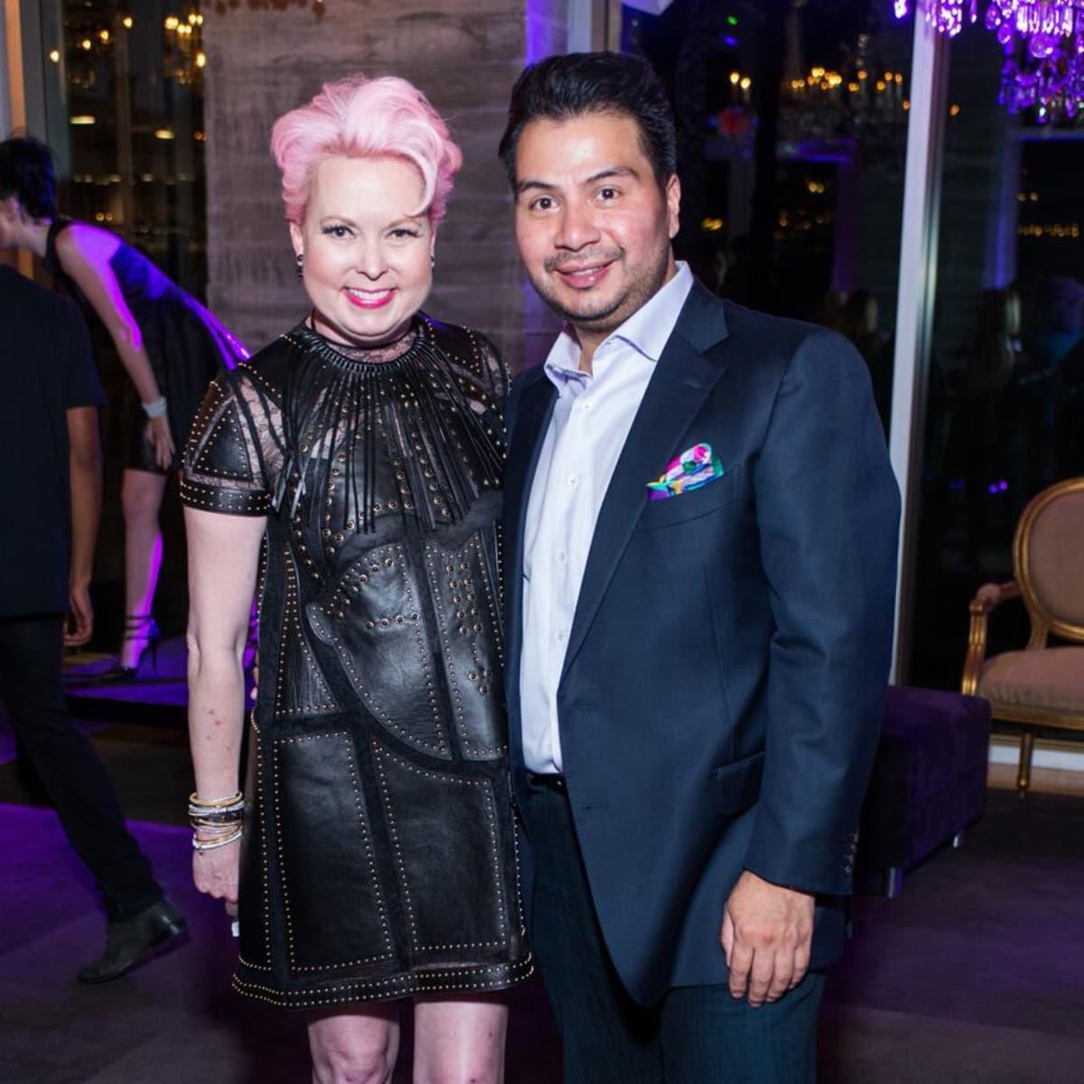 Purple party, Vivian Wise, Sergio Morales