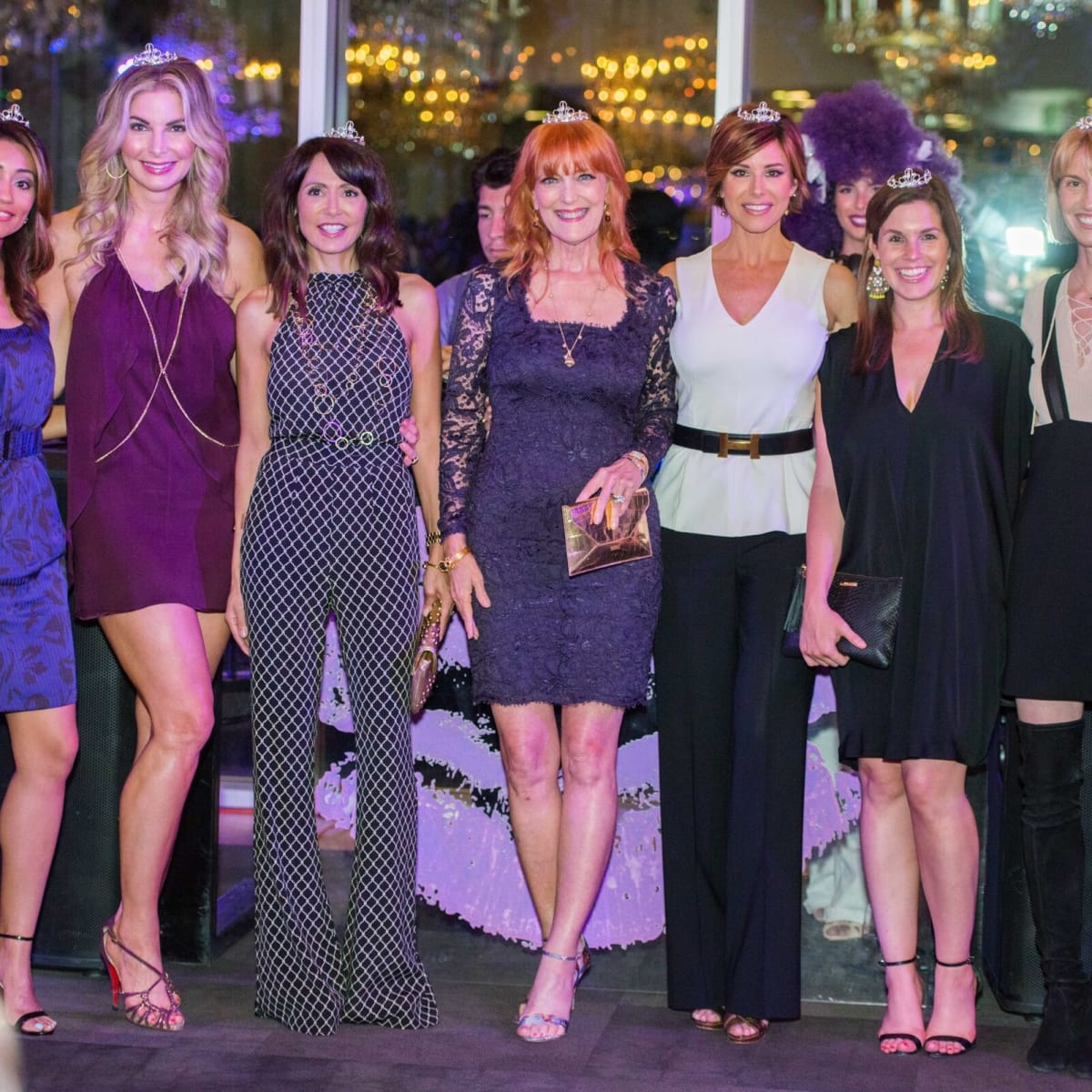 Purple party, muses