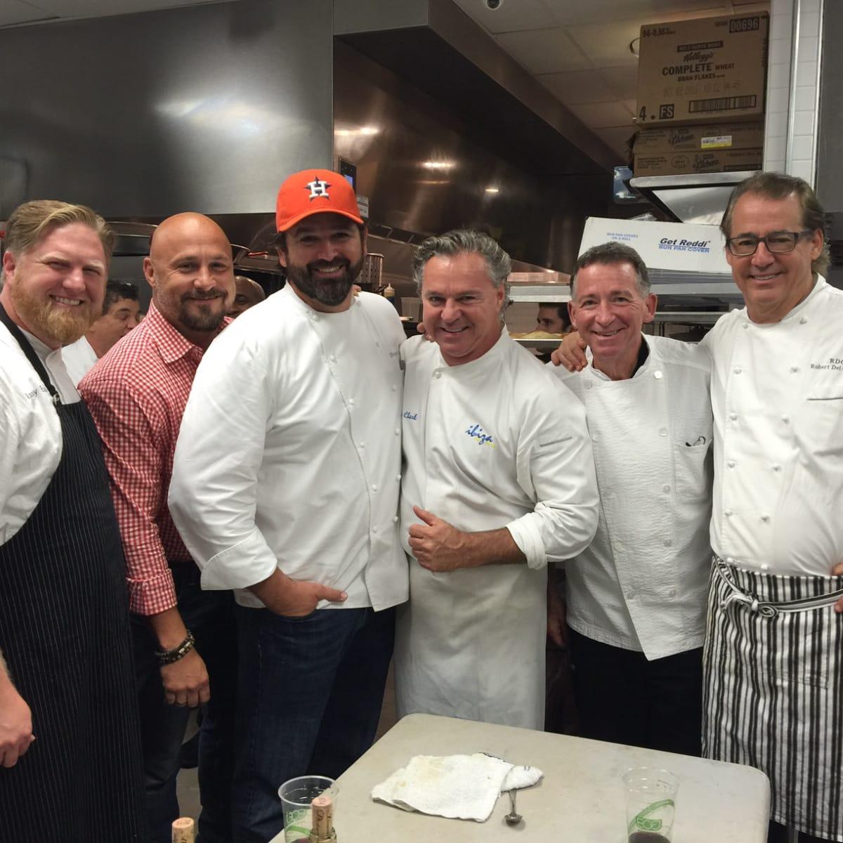 Recipe For Success 10th anny dinner, 5/16  Randy Evans, Randy Rucker, Bryan Caswell, Charles Clark, John Sheely, Robert Del Grande