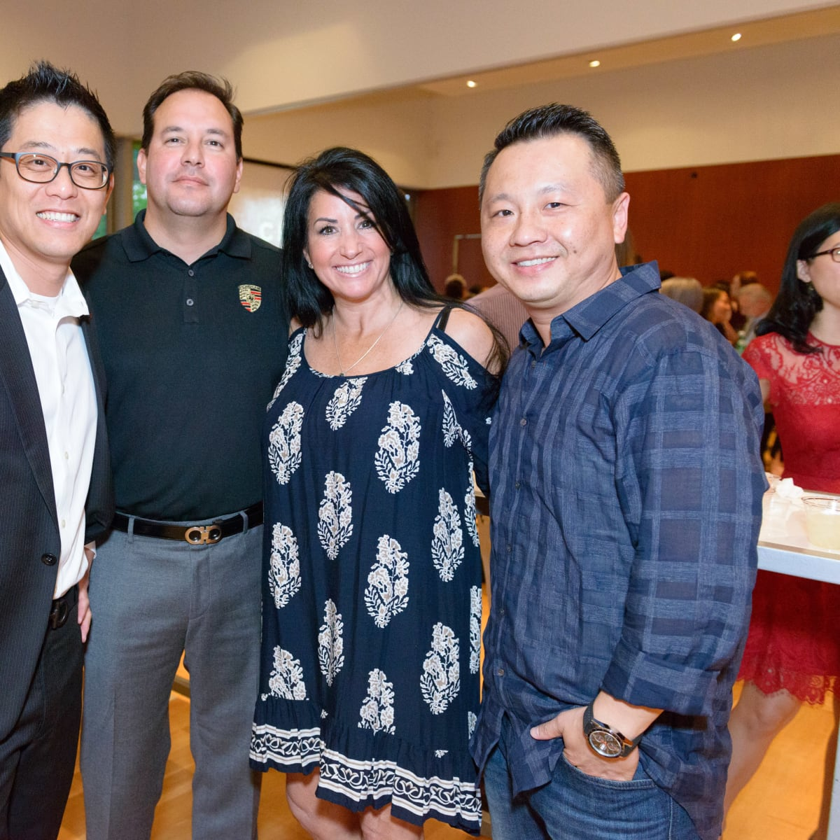 Tastemakers Houston 5/16 Efan Hsu, Jorge Olivas, Michelle Wuerch, Dan Koo