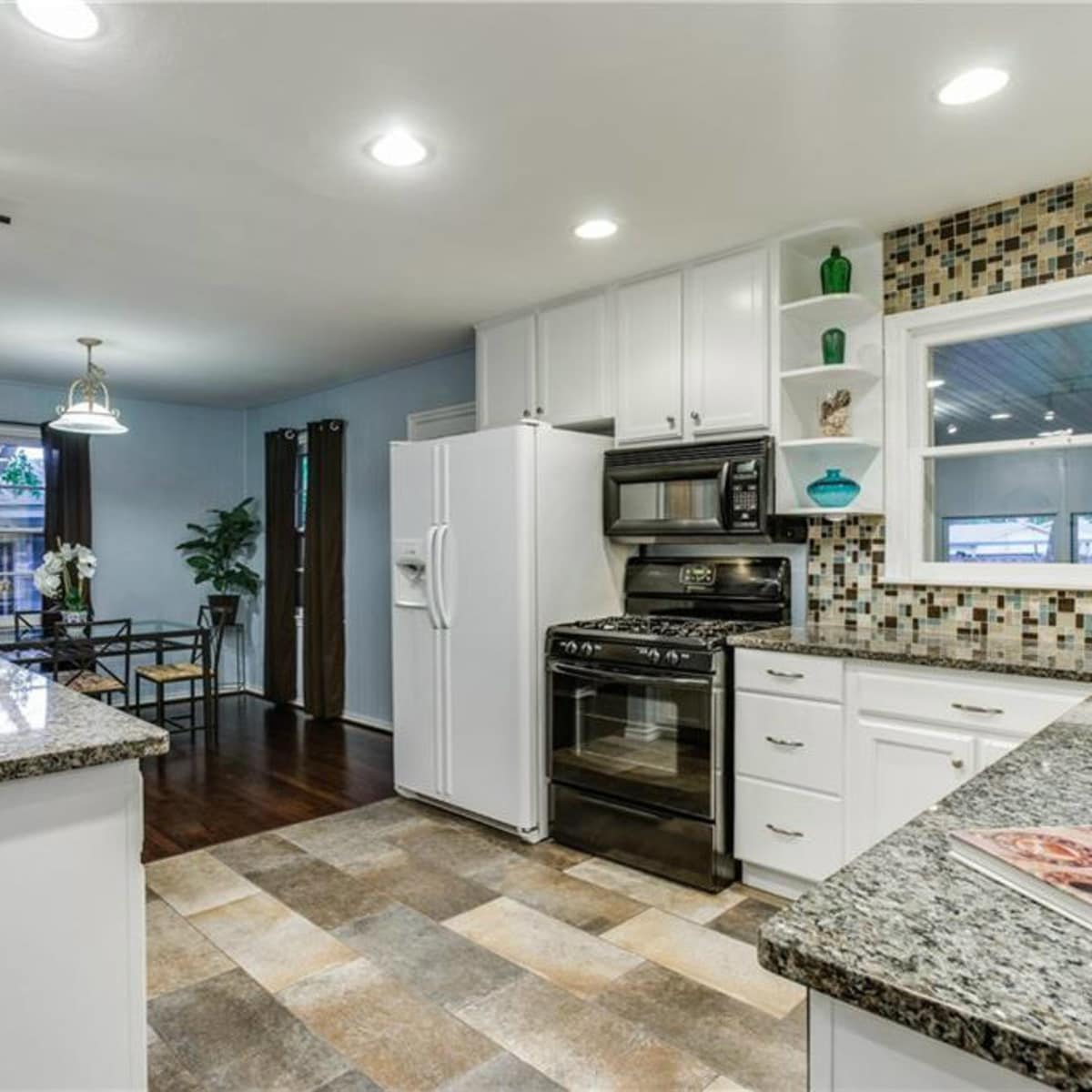 Kitchen at 11207 Sinclair Ave in Dallas