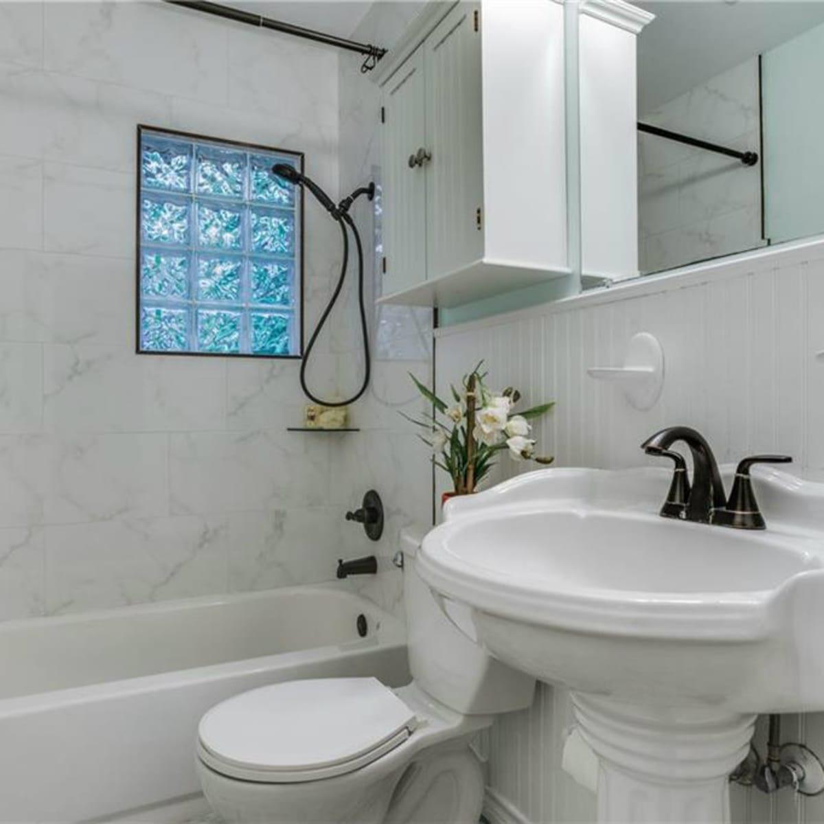 Bathroom at 11207 Sinclair Ave in Dallas