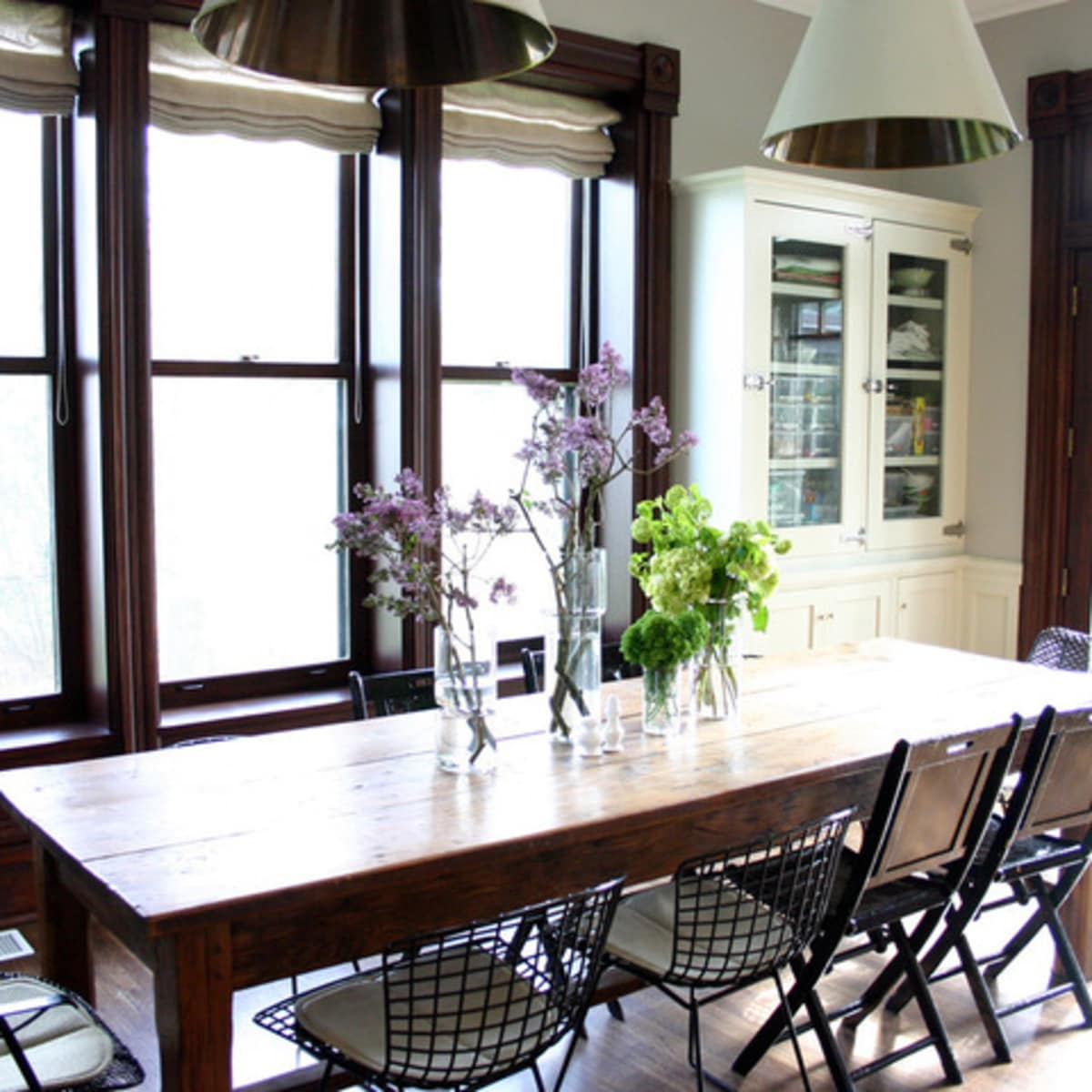 Farmhouse dining table Houzz