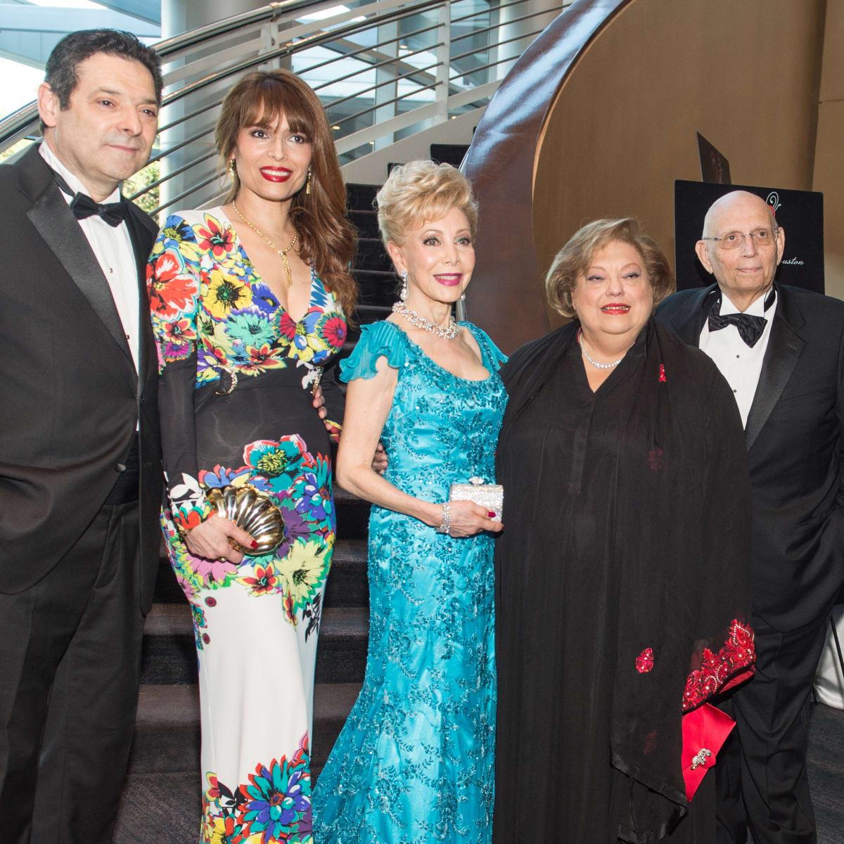 Vituosi of Houston, Carlos Barbieri, Karina Barbieri, Margaret Alkek Williams, Zarine Boyce, Meherwan Boyce