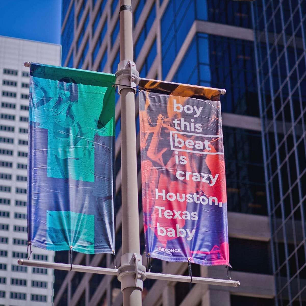 Downtown District banners