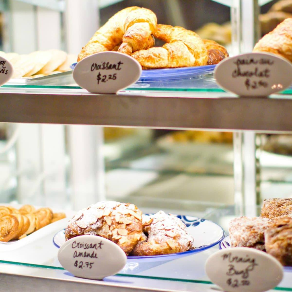 La Patisserie Austin bakery pastry case