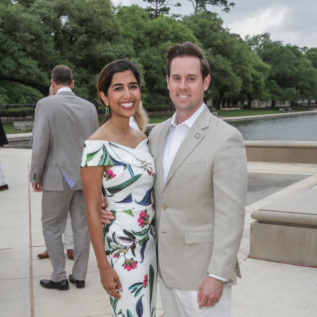 Hermann Park Evening in the Park 5/16, Divya Brown, Chris Brown