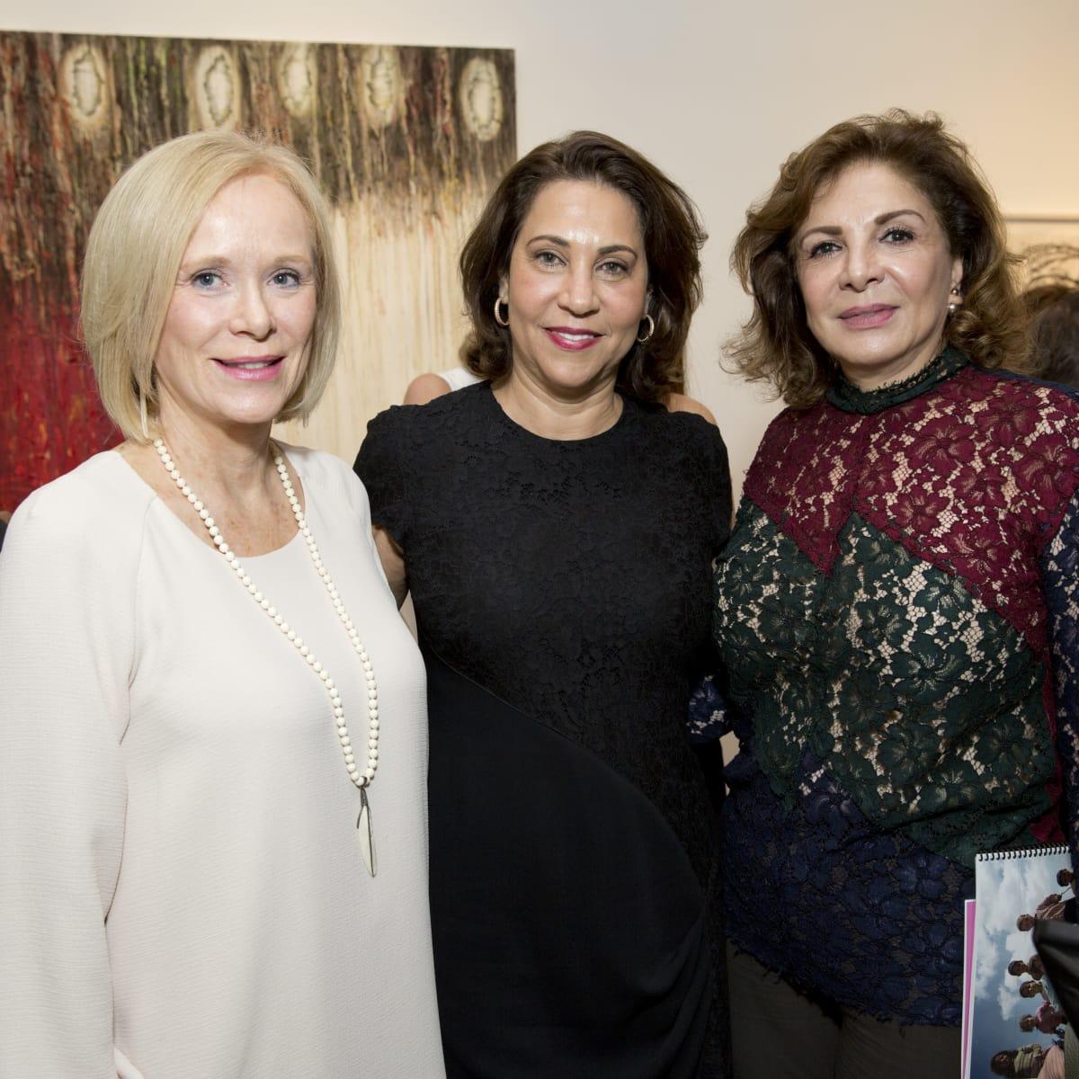 UNICEF Art Auction, 5/16 Louise Chehlaoui, Alma Kantarjian, Chaida Midani