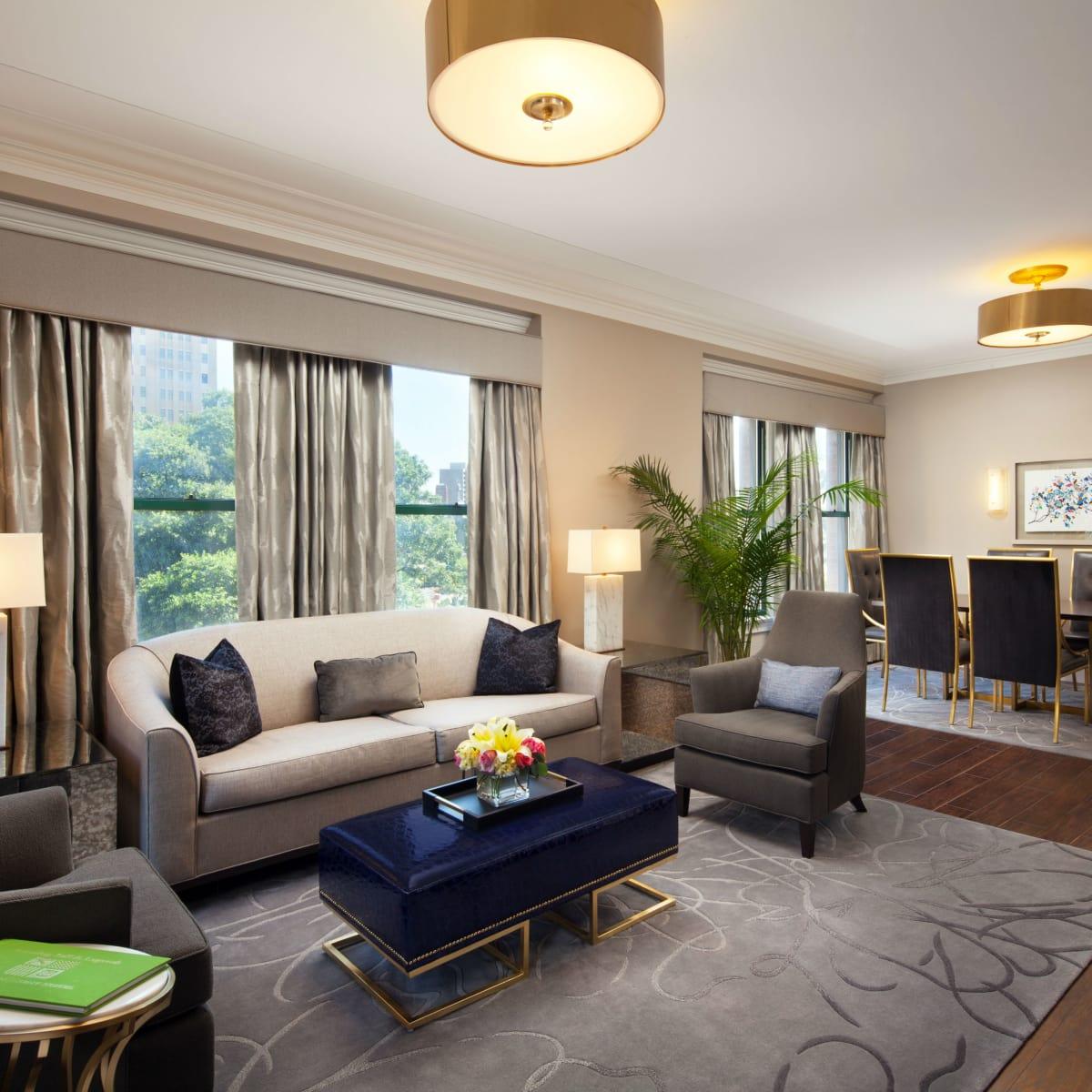 St. Anthony Hotel superior suite