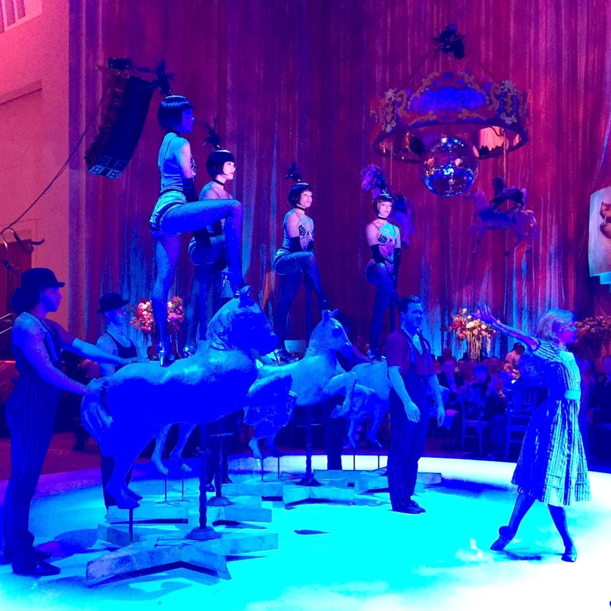 Houston Grand Opera Ball, 2016, dancers