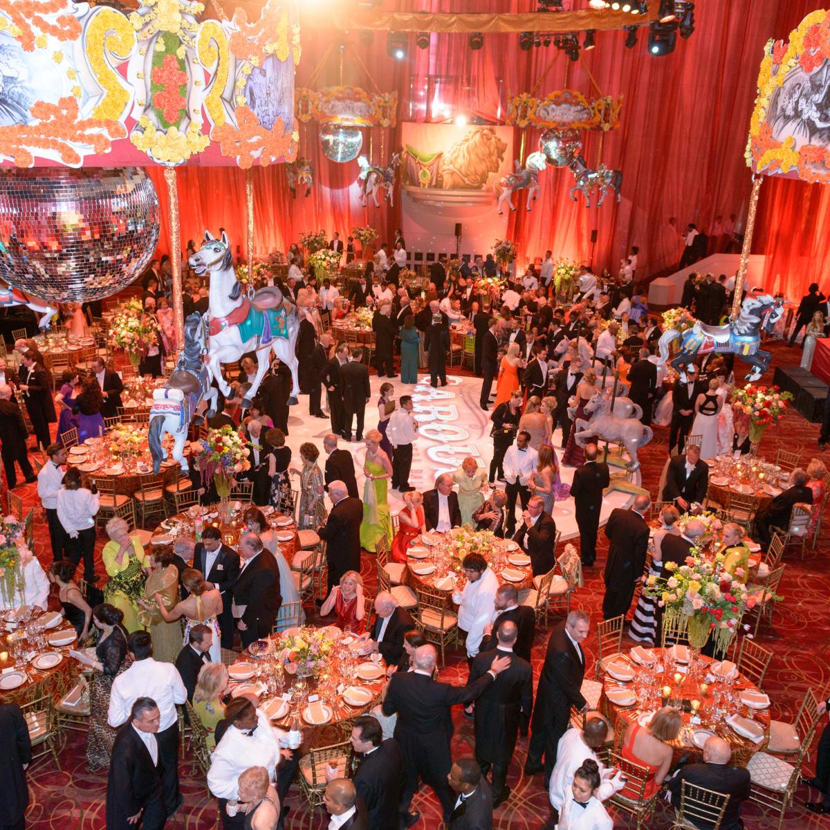 Houston Grand Opera Ball, April 2016 decor