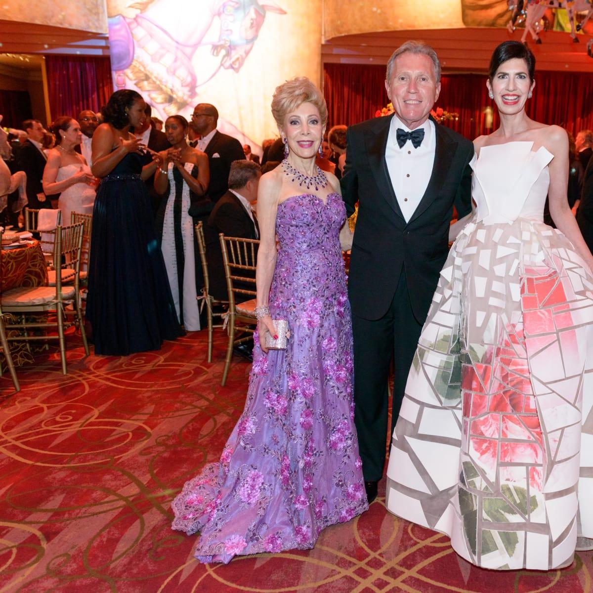 Houston Grand Opera Ball, April 2016 Margaret Alkek Williams, Martin Fein, Kelli Cohen Fein
