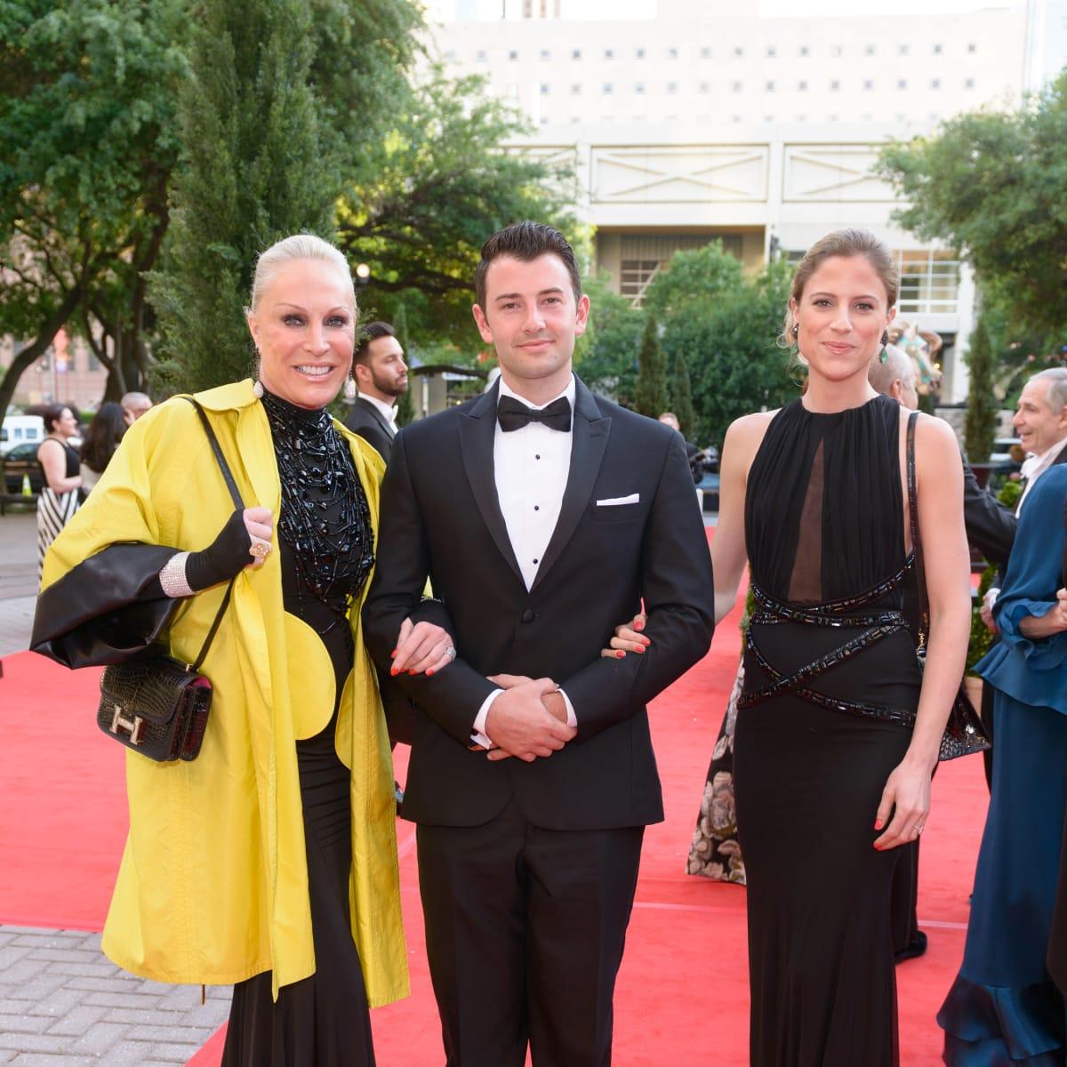 Houston Grand Opera Ball, April 2016, Suzanne Saperstein, Crayton Baer, Alexis Saperstein