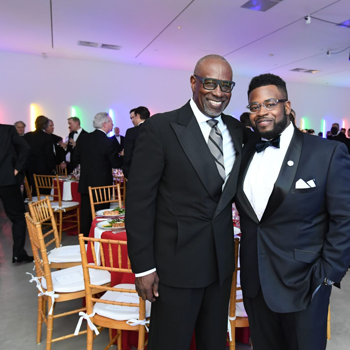 Gerald and Jackson Smith at Men of Menil 2016