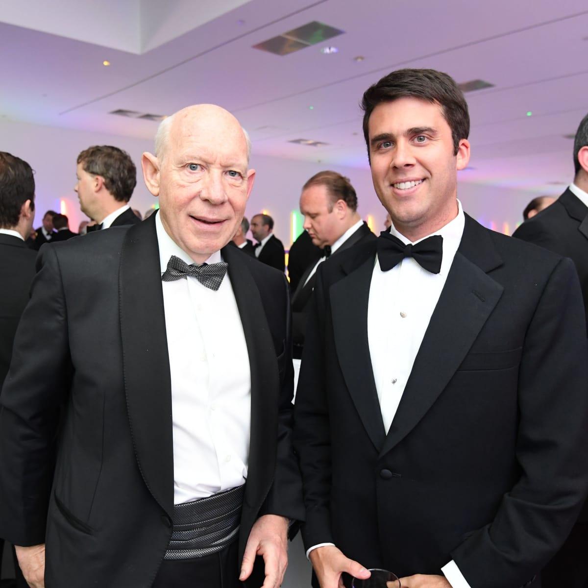 Bill White and Charlie Leykum at Men of Menil 2016