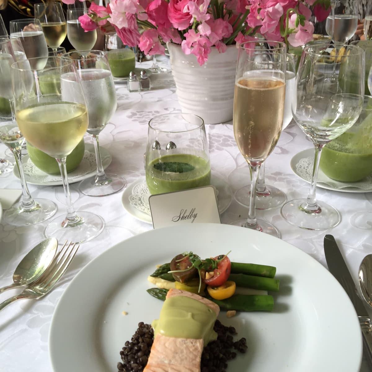 Bayou Bend Luncheon,  meal