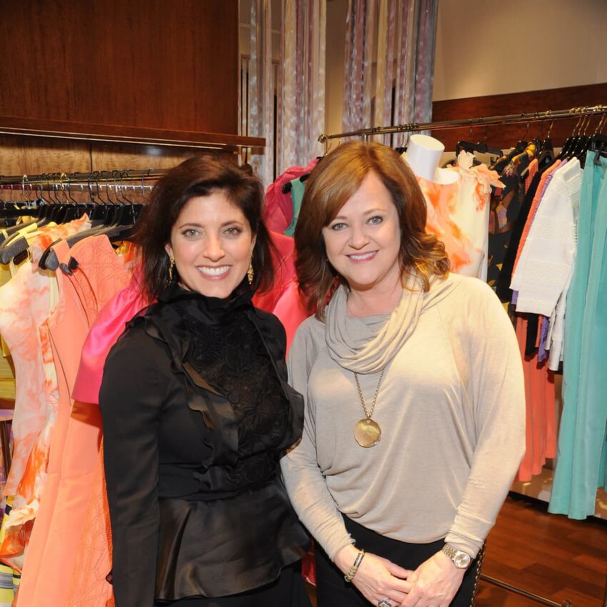 Stacey Lindseth, Diane Kiecke at Passion for Fashion party at Elizabeth Anthony