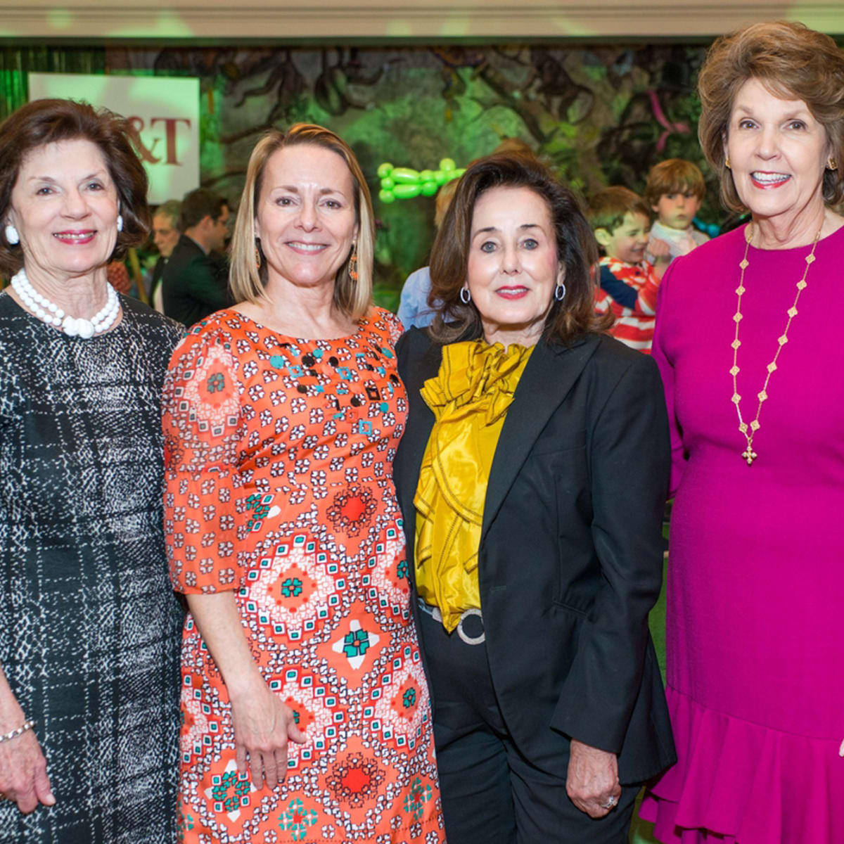 Houston Symphony Children's Fashion Show, March 2016,Mary Lynn Marks, Darlene Clark, Betty Tutor, Lilly Andress